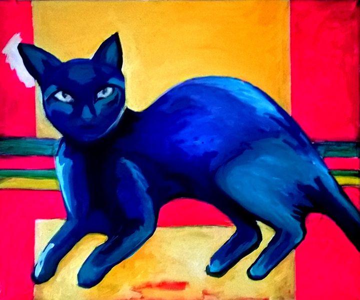 CATS blue - RAQUELSARANGELLO