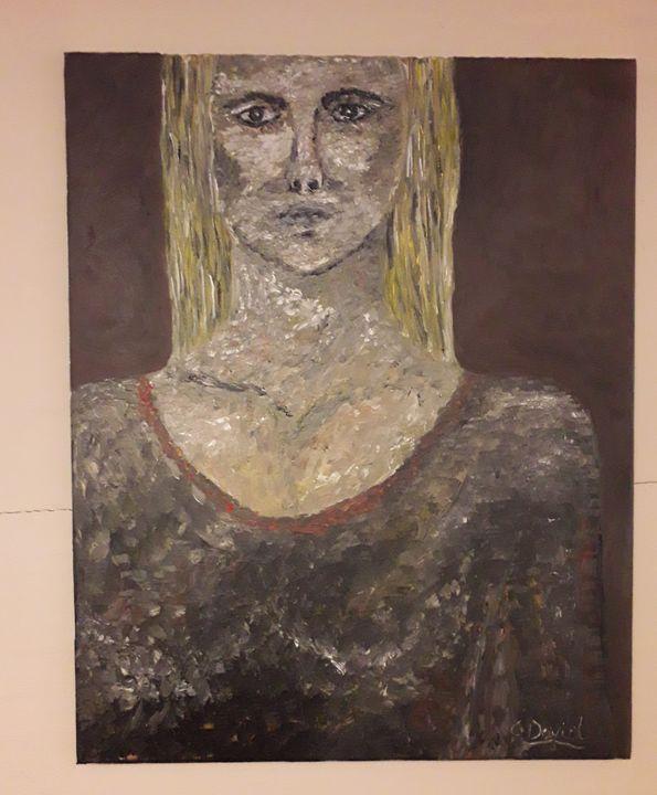 Original oil paintings on canvas - David