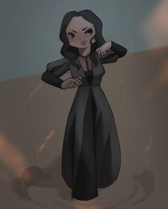 Chibi of Yennefer of Vengerberg