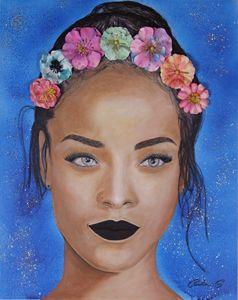 Flower Girl Rihanna