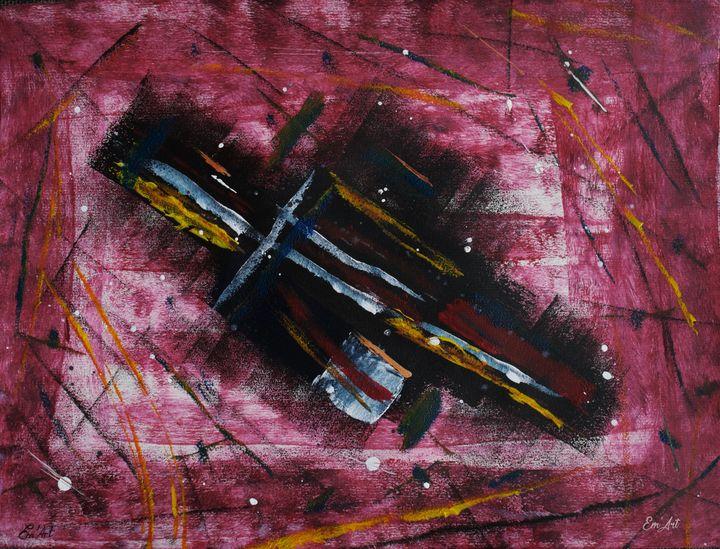 The Warrior, by Em'Art - Em'Art - Emmanuelle Baudry