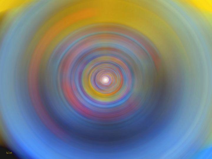 Blue vibrations - Em'Art - Emmanuelle Baudry