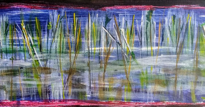 After the night - acrylic on canvas - Em'Art - Emmanuelle Baudry