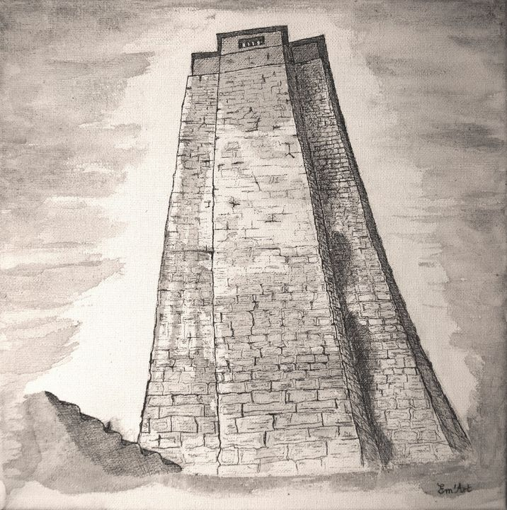 Babylon Tower by Em'Art - Em'Art - Emmanuelle Baudry