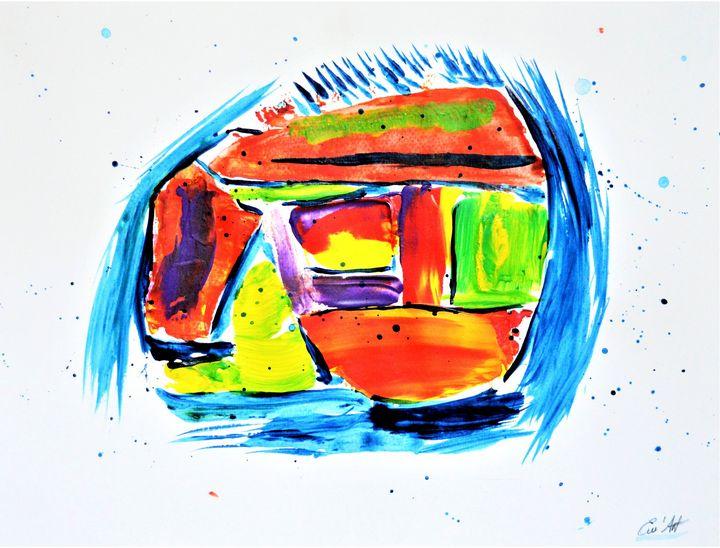 Le clown muet - The silent clown - Em'Art - Emmanuelle Baudry