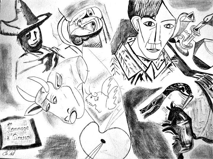 Photography of Hommage à Picasso II - Em'Art - Emmanuelle Baudry