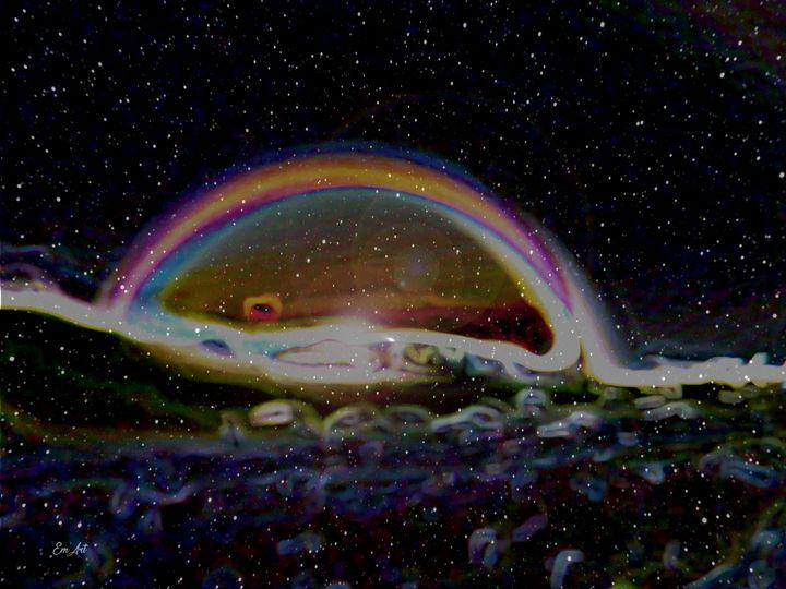 Cosmic Rainbow, by Em'Art - Em'Art - Emmanuelle Baudry