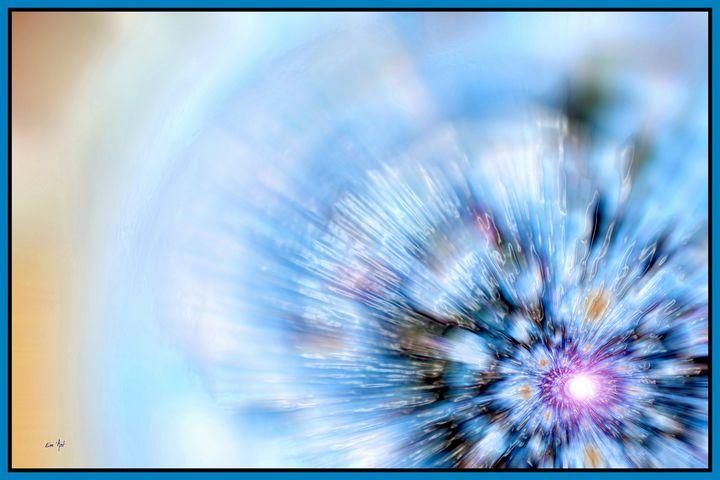 Blue Speed, by Em'Art - Em'Art - Emmanuelle Baudry