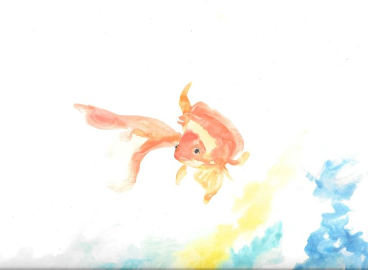 Watercolor fish - Federica's Gallery