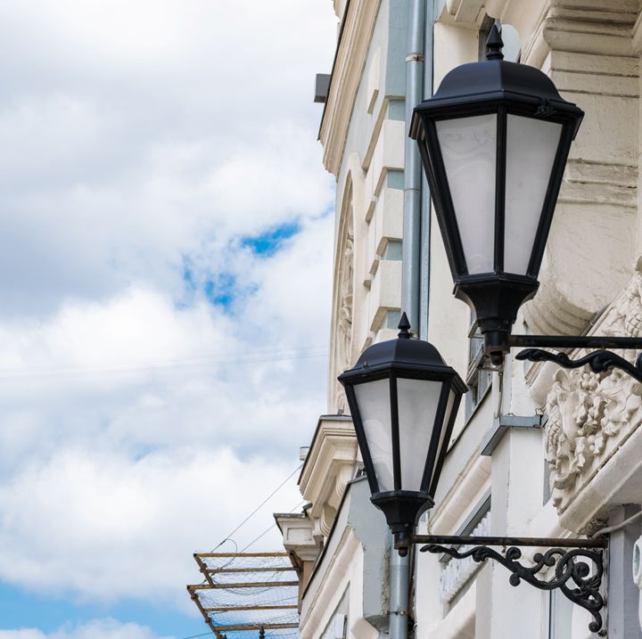 antique gas lanterns - Aleksei lomanov