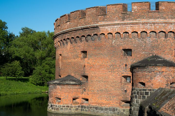 the castle tower is surrounded by a - Aleksei lomanov