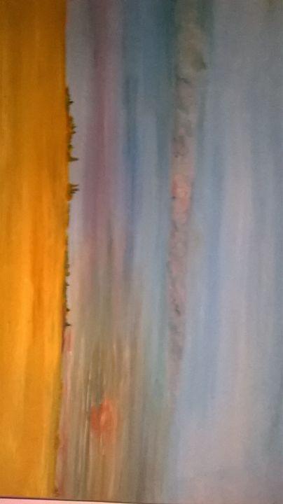 Dawn in the desert - montanera art