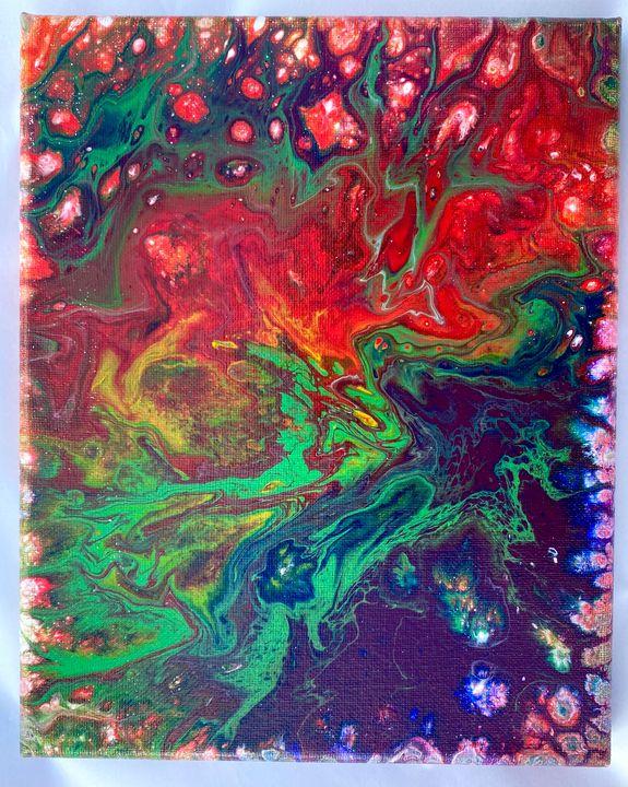 Clash of Colors - Arty Marty's Art Shop