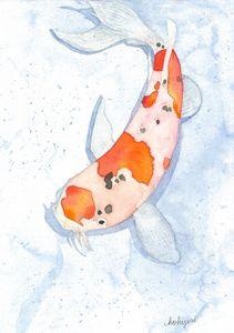 Koi Fish Dream - Artlover