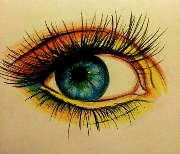 Eye - Art By Kathu