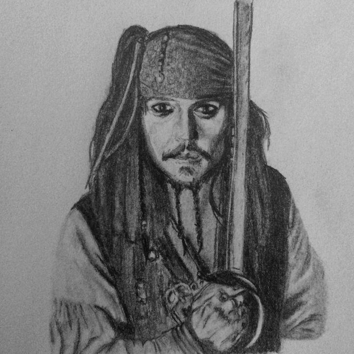Jack Sparrow - Art By Kathu