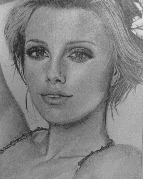 Charlize Theron - Art By Kathu