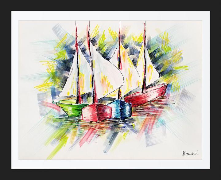 Boats - Art Flambe