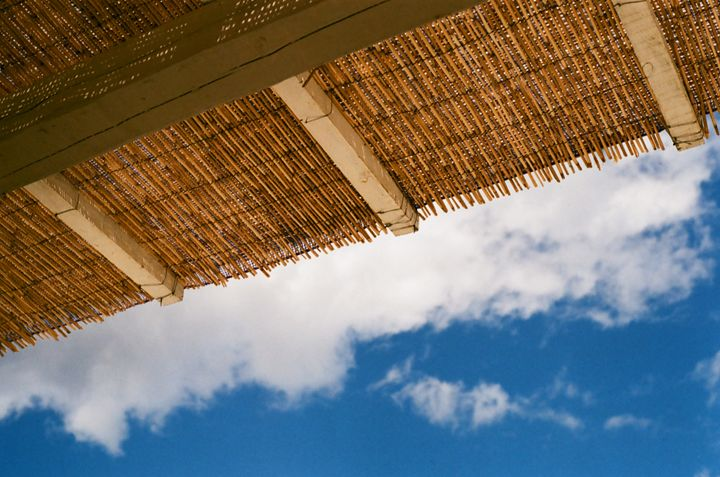 wicker roof - Hokes Creations