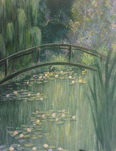 Monet's Waterlilies Rendition