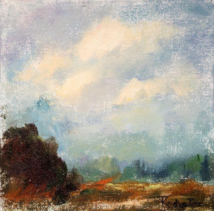 Misty Morning - ArtByRadha