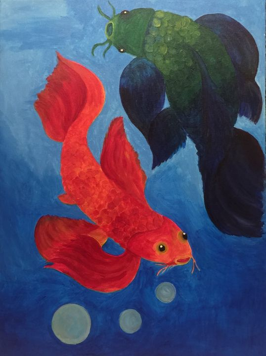 Koi Fish - Unique and Mystique Creations by Caylan Wilder
