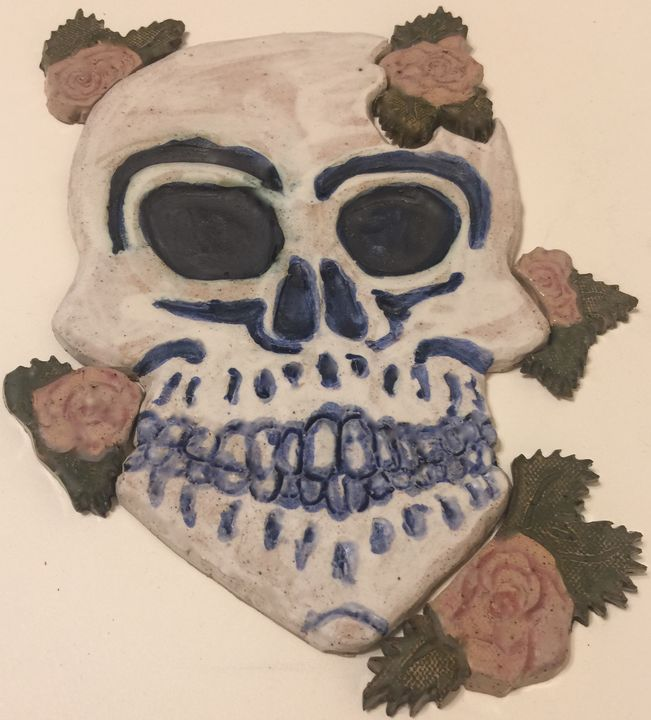 Skull and Roses - Unique and Mystique Creations by Caylan Wilder
