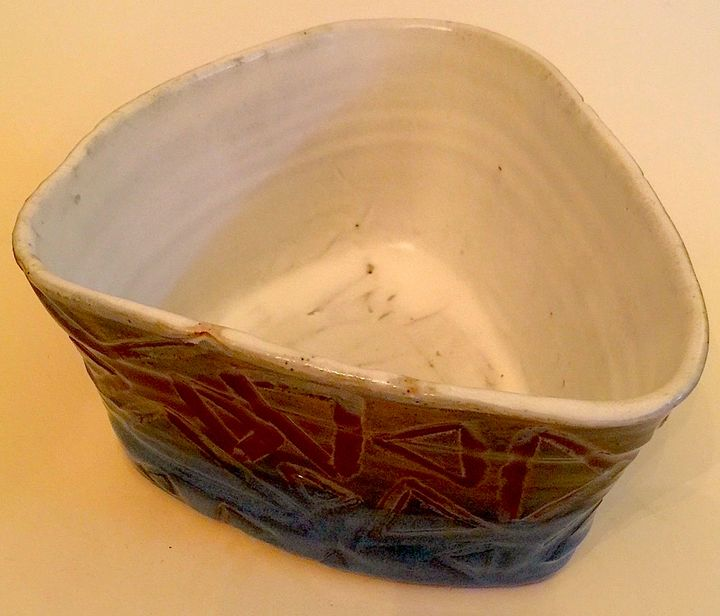 Triangular Bowl - Unique and Mystique Creations by Caylan Wilder