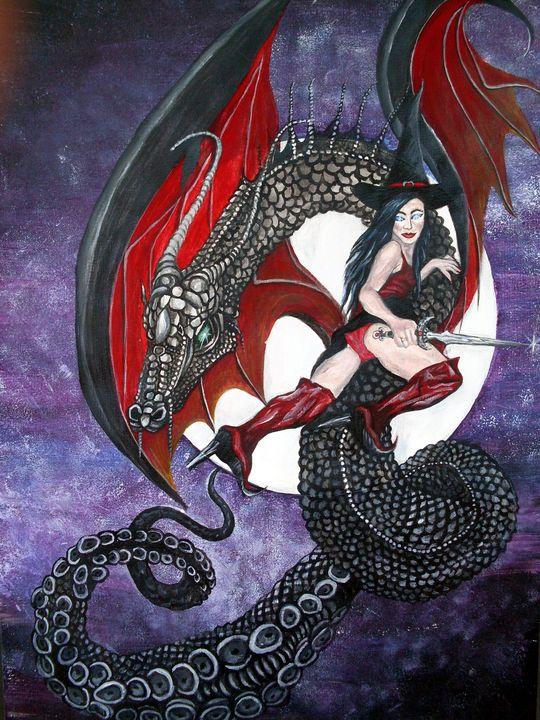 Dragon Witch - Elaine Goodheart