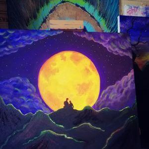 Moonlight acryl