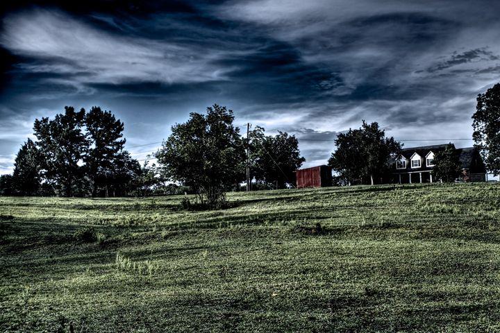 Swirling Sky - Travis Baars Photography