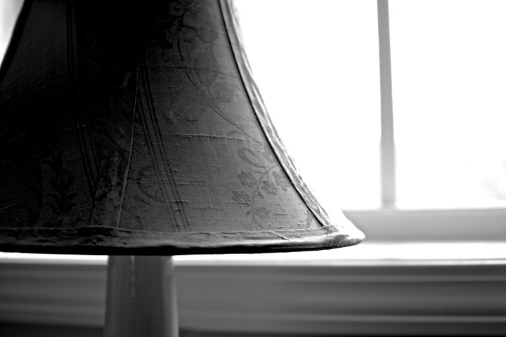 Lamp Shade Contrast - Travis Baars Photography