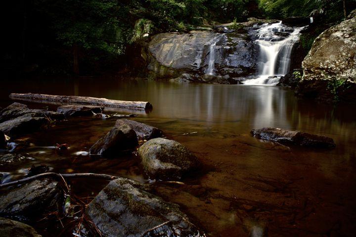 Peaceful Waterfall - Travis Baars Photography