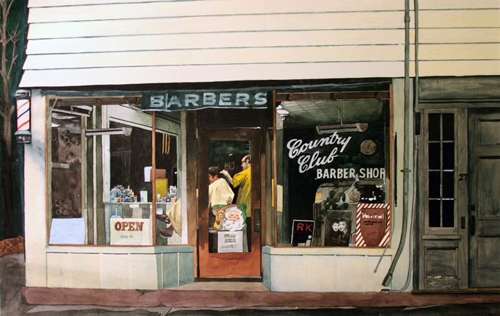 Country Club Barber Shop - Tom Arenberg