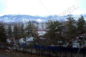 Skyscape in Almaty Kazakhstan