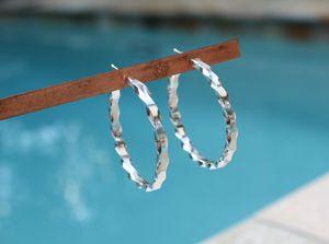The Twist Earrings (TWe12-5) - Karen Landrigan