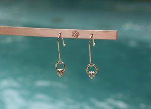 Tiny Effervesce Earrings (EFe02-2) - Karen Landrigan
