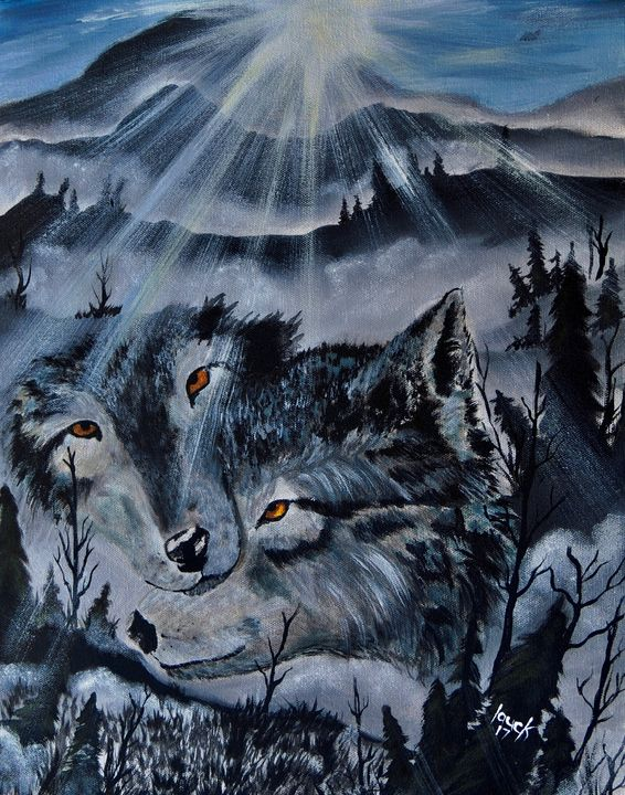 Mountain Wolves - lauck