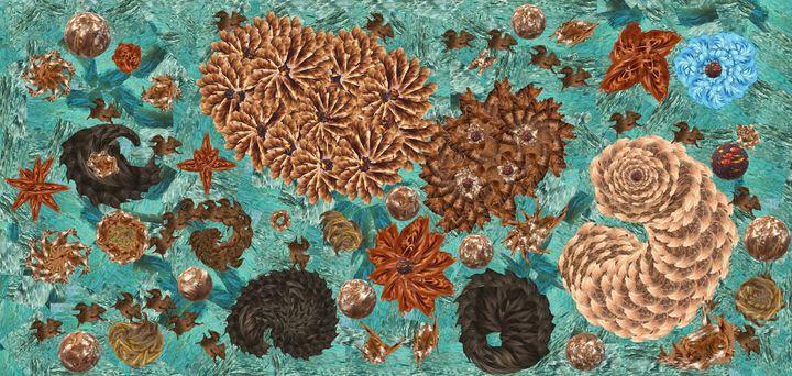 Green sea hair glory - Wilkin Mejia
