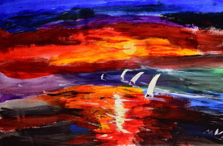 Deep Sunset - Makena