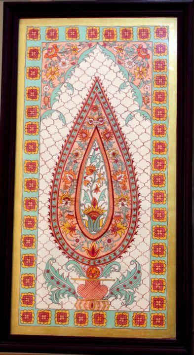 Kalamkari handmade painting - The Speaking Canvas