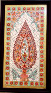 Kalamkari handmade painting