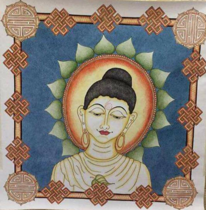 Buddha The Enlightened One - The Speaking Canvas