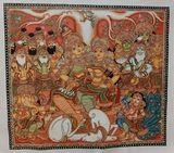 Original Kerala mural painting