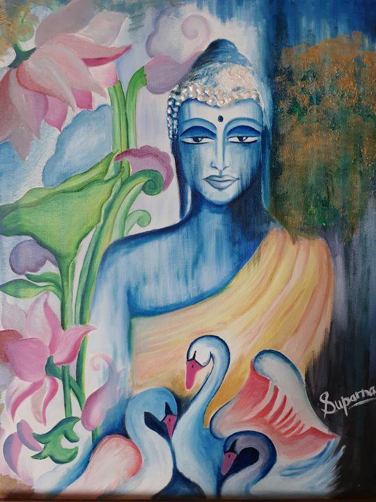 Buddha - The Speaking Canvas