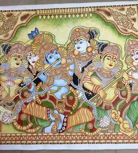 Krishna playing his flute -  Bansuri