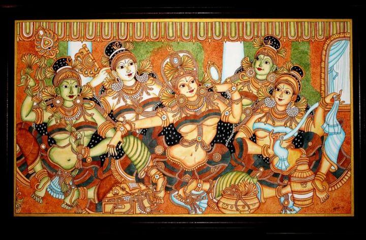Shringaar - The Speaking Canvas