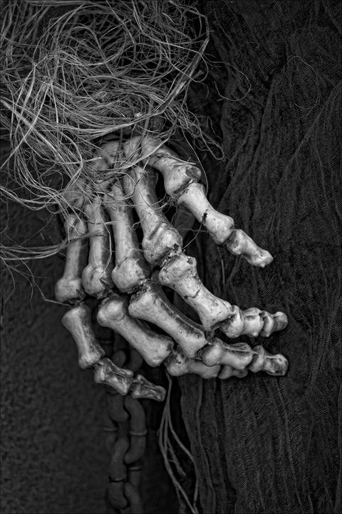 Skeleton Hand - Robert Daniel Ullmann Fine Art Photography