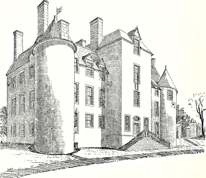 Mansion Drawing Architecture