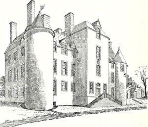 Mansion drawing architecture - Effigia